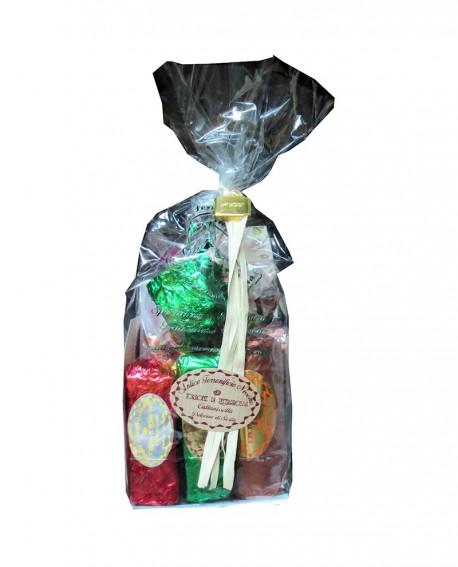Sacchetto con torrone misto gr 150 - Antico Torronificio Nisseno