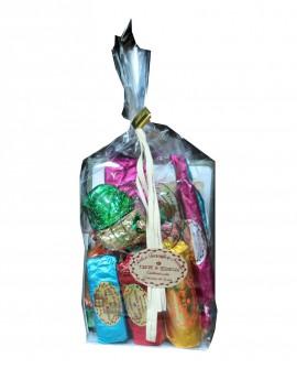 Sacchetto con torrone misto gr 450 - Antico Torronificio Nisseno