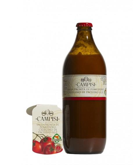 Salsa pronta di Pomodoro Ciliegino di Pachino IGP - bottiglia 66 cl - Campisi