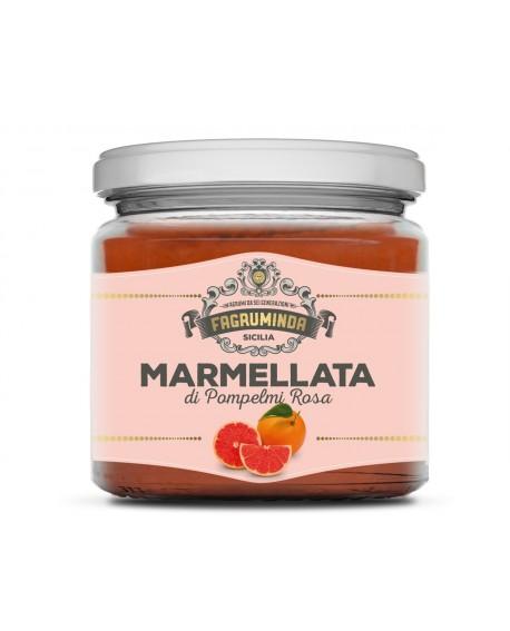 Marmellata di Pompelmo Rosa 230g - Fagruminda