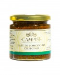 Patè di Pomodoro Ciliegino - vaso vetro 220 g - Campisi
