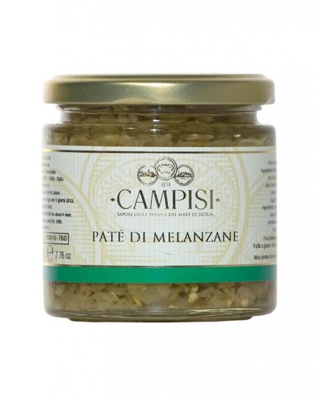 Patè di Melanzane - vaso vetro 220 g - Campisi