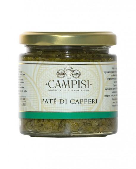 Patè di Capperi - vaso vetro 220 g - Campisi