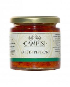 Patè di Peperoni - vaso vetro 220 g - Campisi