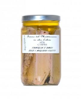 Tonno del Mediterraneo in Olio di Oliva - vaso vetro 1600 g - Campisi