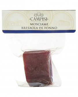 Mosciame di Tonno bresaola di tonno in busta sottovuoto - trancio 220 - Campisi