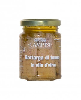 Bottarga di Tonno in Olio di Oliva - vaso vetro 90 g - Campisi