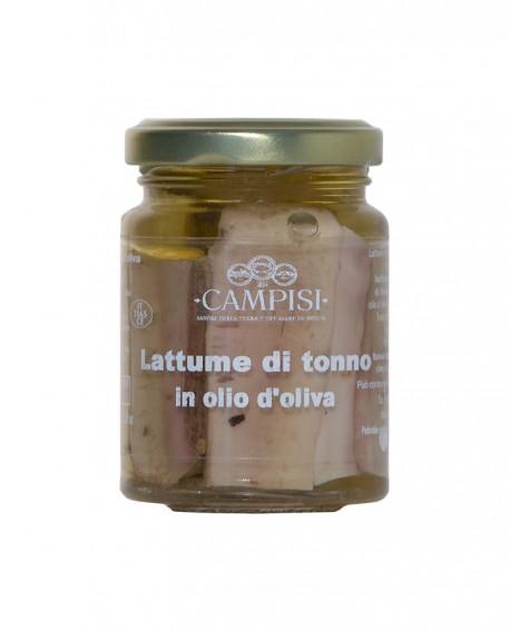 Lattume di Tonno in Olio di Oliva - vaso vetro 100 g - Campisi