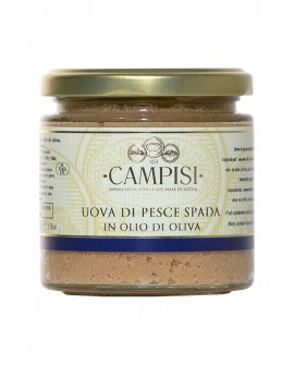 Uova di Pesce Spada in Olio di Oliva - vaso vetro 210 g - Campisi