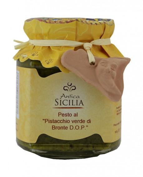 Pesto al pistacchio Verde di Bronte D.O.P. - 190 g - Antica Sicilia