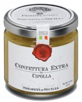 Confettura Extra di Cipolla - vasetto di vetro 212 - 225 g - Frantoi Cutrera Segreti di Sicilia