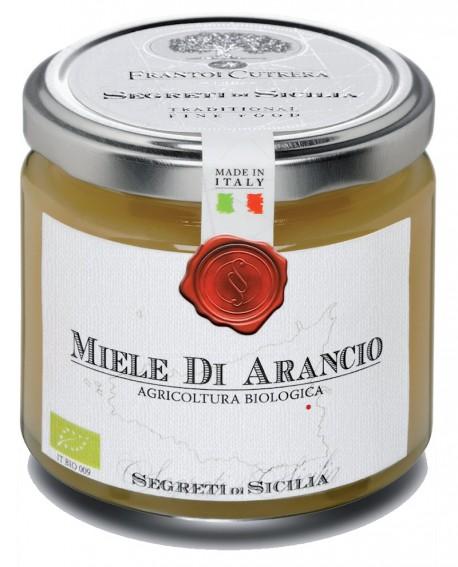 Miele di Arancio - vasetto di vetro 212 - 250 g - Frantoi Cutrera Segreti di Sicilia