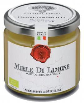 Miele di Limone - vasetto di vetro 212 - 250 g - Frantoi Cutrera Segreti di Sicilia