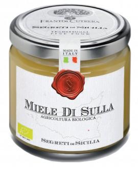 Miele di SULLA - vasetto di vetro 212 - 250 g - Frantoi Cutrera Segreti di Sicilia
