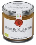 Miele di Millefiori - vasetto di vetro 212 - 250 g - Frantoi Cutrera Segreti di Sicilia