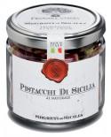 Pistacchi di Sicilia al naturale - vasetto di vetro 212 - 100 g - Frantoi Cutrera Segreti di Sicilia
