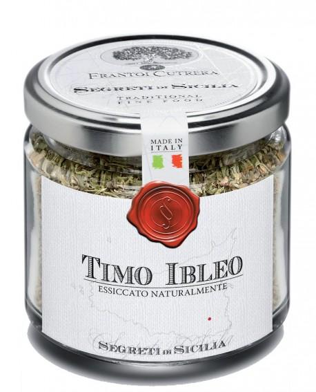 Timo Ibleo - vasetto di vetro - 30 g - Frantoi Cutrera Segreti di Sicilia