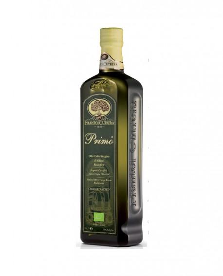 Olio Extra Vergine di Oliva Primo BIO - Bottiglia 0,50 Lt - Frantoi Cutrera dal 1906