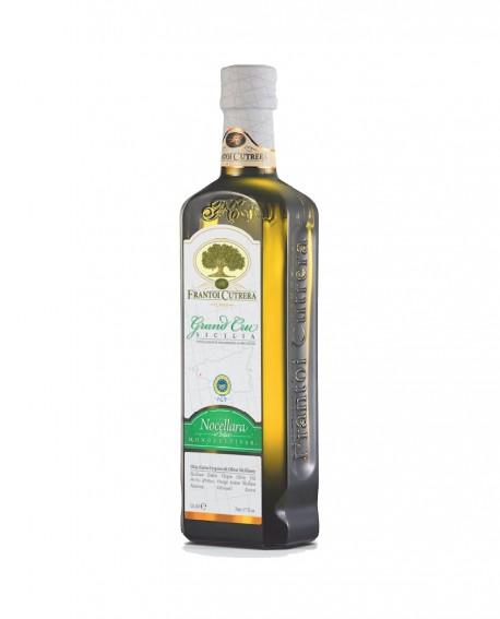 Olio Extra Vergine di Oliva IGP Sicilia - Grand Cru Nocellara del Belice - Bottiglia 0,50 Lt - Frantoi Cutrera dal 1906