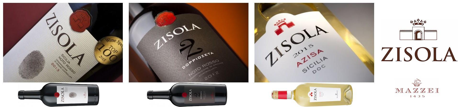 Vini siciliani - Nero d'Avola, Syrah, Petit Verdot, Grillo e Catarratto - Cantina Zisola vendita online